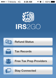 IRS Offers Refund Info And More Using Mobile App | ATAX