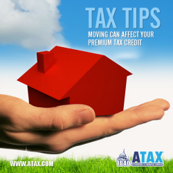 Moving Can Affect Your Premium Tax Credit