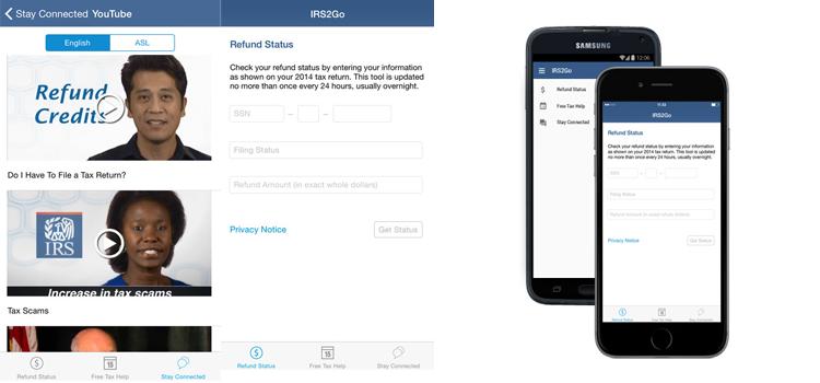 IRS Smartphone App has been updated | ATAX