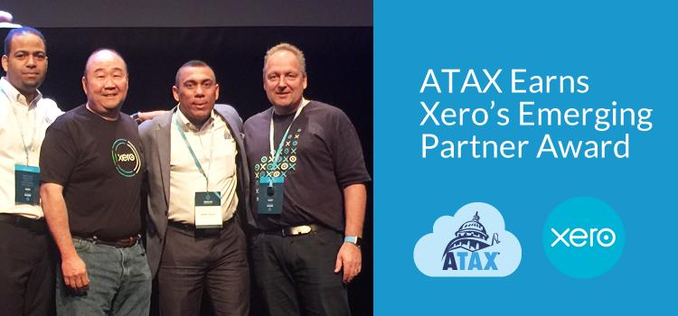 ATAX Earns Xero's Emerging Partner Award